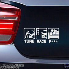 (320) Fun Sticker Aufkleber /  Tune Race F*** Audi A1 Für Stickerbomb