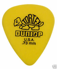 Jim Dunlop Tortex Guitar Picks - 0.73mm Gauge - 72 Pack