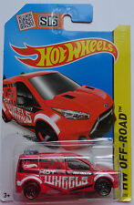 2015 Hot Wheels HW OFF ROAD 2014 HW Ford Transit Connect 210/250 (Red)(Int. Card
