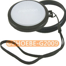 82mm White Balance Lens Filter Cap with Filter Mount WB
