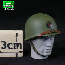 1:6 Scale Soldier Story WWII US Infantry HENRY KANO - Metal Helmet