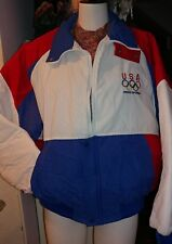 Vintage 1992 USA Olympic SWINGSTER  XL Georgia Pacific Sponsor Coat Jacket