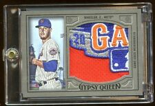 2016 GYPSY QUEEN ZACK WHEELER 1/1 *ALL STAR* GAME JUMBO PATCH LOGO  AMAZING METS