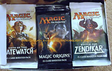 MAGIC THE GATHERING M16 ORIGINS ZENDIKAR OATH OF THE GATEWATCH BOOSTER BOX LOT