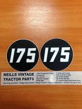 MF Massey Ferguson 175 Tractor Side Medallion Decal Pair