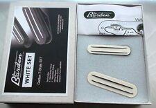 WHITE JBE Pickups Danny Gatton Barden T-Style Telecaster TELE PICKUP SET USA