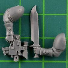 Space Marines Scout Bike Boltpistole & Messer Arm Warhammer 40K Bitz 6578