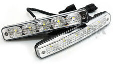 DRL 5x LED 9-32V Daytime Running Light Kit - 900lm 6000K White