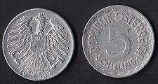 AUSTRIA  5 Schilling 1952 Fine Conservation - Conservazione Molto Bella