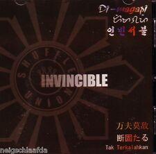 SHUFFLE UNION -  INVINCIBLE  CD ska japan Pili Ska Pinas Rec.