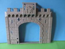 Playmobil groß Wand Teil zu Zugbrücke Tor Mauer 3666 Ritterburg