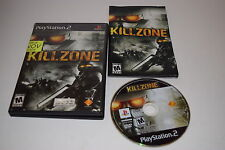 Kill Zone Sony Playstation 2 PS2 Game Complete Tested