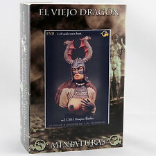 Dragon Raider 1 Büste 1:10  El Viejo Dragon Miniaturas Neu Resin CB31
