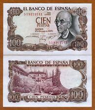 Spain, 100 pesetas, 1971, P-152, UNC   Pre-Euro