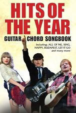 CHART Hits Of The Year 2014 ED SHEERAN TAYLOR SWIFT Pop Guitar CHORD Music Book