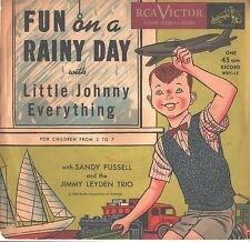 LITTLE JOHNNY EVERYTHING--PICTURE SLEEVE ONLY--(FUN ON A RAINY DAY)--PS--PIC-SLV