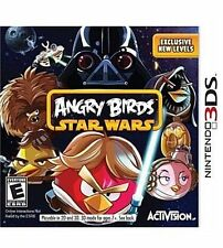 Angry Birds Star Wars (Nintendo 3DS, 2013, Activision) New Sealed Video Game