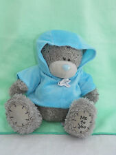 Me To You peluche ourson 20 cm assis *-* BLOUSON *-* bleu à capuche