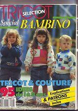 tricot selection - special bambino - magazine de 1987 -1988