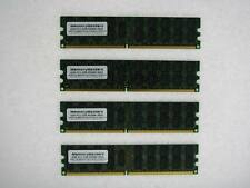 PAS POUR PC/MAC! 16GB (4x4GB) Dell PowerEdge SC1420 Memory RAM ECC REG testé