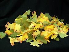 250 Assorted Fake Autumn Leaves Fall Tree Leaf Harvest Decor Thanksgiving Crafts