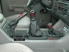 FOR LAND ROVER DISCOVERY 200TDI 300TDI GEAR & HI-LOW & HANDBRAKE GAITER LEATHER