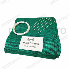 SHADE NET GARDEN NETTING GREEN HOUSE UVSTABILIZED AGRO 75%60 SQ METERS(20M x3M)