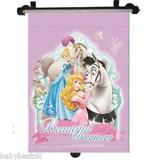 Disney Princess Car Window UV Protection Roller Blind Sun Shade
