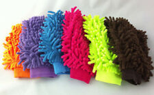 Double Sided Mitt Microfiber Car Dust Washing Cleaning Glove Towel Soft Hot