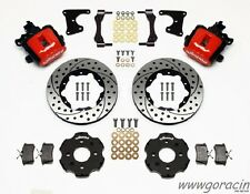 "1988 - 1995 Honda Civic Wilwood Combination Rear Parking Brake Kit, 11"" Rotors-"