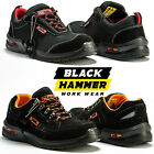 Mens Safety Trainers Shoes Boots Work Steel Toe Cap Hiker Ankle Size 8-11 UK New