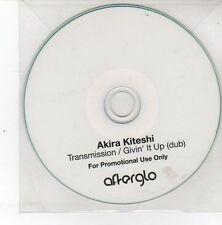 (DS512) Akira Kiteshi, Transmission / Givin' It Up - DJ CD