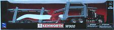 NewRay - Kenworth W900 Autotransporter schwarz/grau 1:43 Neu/OVP