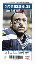2014 SEATTLE SEAHAWKS VS ARIZONA CARDINALS TICKET STUB 11/23/14 PERCY HARVIN