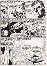 PLANETE EN FUSION PLANCHE DE MONTAGE AVENTURES FICTION ARTIMA 1959 PAGE 2