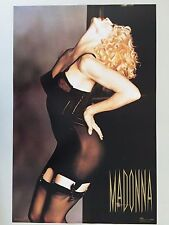 MADONNA IN SUSPENDERS! 1990, AUTHENTIC 1991 POSTER
