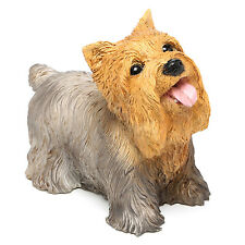 Yorkshire Terrier Small Yorkie Dog Statue Statuary Sculpture Figurine Home Decor