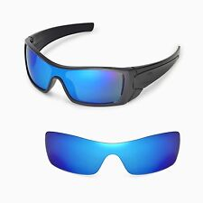 New Walleva Ice Blue Replacement Lenses For Oakley Batwolf Sunglasses
