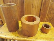 Vintage Industrial Foundry Mold Patterns 3 Handcrafted Oliver Plow Co. Circular