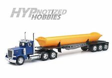 NEWRAY 1:32 PETERBILT MODEL 379 DUMP TRUCK  BLUE & YELLOW  SS-10553