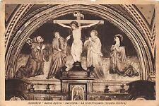 B6672 Italy Subiaco Sacro Speco La Crocifissione