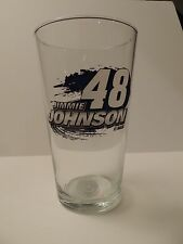 Jimmie Johnson Hunter Manufacturing #48 17oz Mixing Glass FREE SHIP!