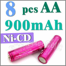 8 AA Ni-Cad Cd Solar Light rechargeable battery Rose