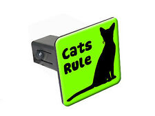 """Cats Rule - 1 1/4 inch (1.25"""") Trailer Hitch Cover Plug Insert"""
