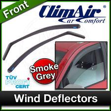 CLIMAIR Car Wind Deflectors NISSAN NAVARA DO / KING CAB 2005 2006 2007 ... FRONT