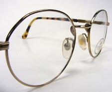 Willis & Geiger P3 Eyeglass Frames Antique Yellow Gold Wire Rim Vintage NOS 48