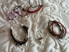 Mixed lot of urban bracelets ,, ideal for festivals