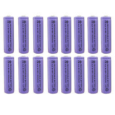 16 x AA 2A 3000 (Actual 300mAh) 1.2V Ni-MH NiMH Rechargeable Battery Cell Purple