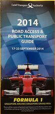 F1 Singapore Road Access & Public Transport Guide 2014