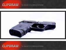 BODYGUARD CLIPDRAW 380 SW S&W Belt Clip Holster Pant Conceal Carry Black BG-B